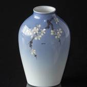 Vase with Cherry Blossom Twig, Bing & Grondahl No. 260-5239