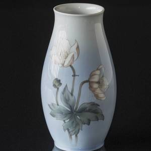 Vase with Willow Leaf, Inscription KAD 1901-1981, Bing & Grondahl No. 342-5249-4C | No. B342-5249-4C | DPH Trading
