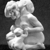 Woman and children with grapes, Bing & Grondahl figurine