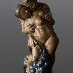 Man and Woman, Bing & Grondahl figurine no 4023, designed by Kai Nielsen | No. b4023-s | DPH Trading