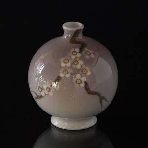Bing & Grondahl Vase with Cherry Blossom | No. B436 | DPH Trading