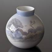 Vase with Landscape, Bing & Grondahl
