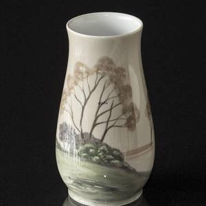 Vase with landscape, Bing & Grondahl No. 526-5210 | No. B526-5210 | DPH Trading