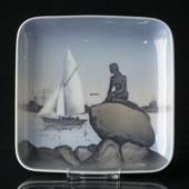 Dish with The Little Mermaid, Bing & grondahl no. 1300-6531 / 531-455