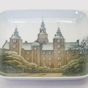 Dish with castle, Bing & Grondahl No. 534-455 | No. B534-455 | DPH Trading