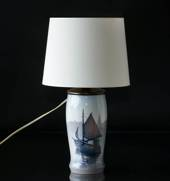 Lamp with marine decoration (original fitted, the fitting can be removed), ...