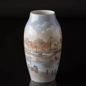 Vase with white Harbour, Bing & Grondahl
