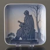 Dish with Hans Christian Andersen, Bing & Grondahl No. 555-455