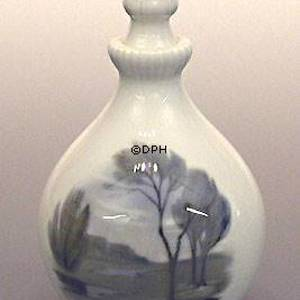 Pot with Birch and landscape, Bing & Grondahl | No. B58-1080 | Alt. B58R-108 | DPH Trading