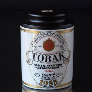 Lid jar ACP Tobacco Spedial Edition 1985 | Year 1986 | No. B6053-7135 | DPH Trading