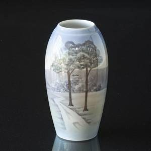 Vase with Landscape, Bing & Grondahl No. 602-5249 | No. B620-5251 | DPH Trading