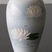 Vase with waterlillies, Bing & Grondahl