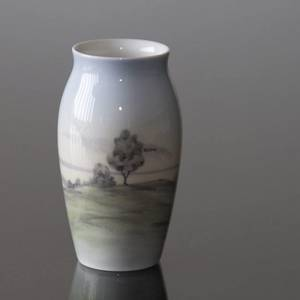 Small Vase with Landscape, Bing & Grondahl | No. B660-5255 | DPH Trading