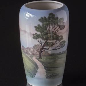 Vase with the way to the lake, Bing & Grondahl | No. B716-5448 | Alt. 1716748 | DPH Trading