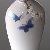 Vase with Cherry Blossom Twig butterfly, Bing & Grondahl