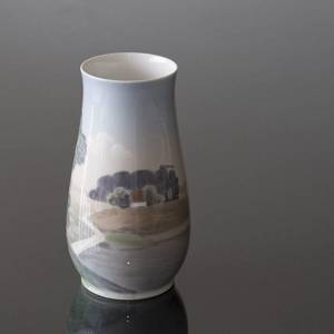 Vase with scenery, produced by Bing & Grondahl No. 8409-209 | No. B8409-209 | DPH Trading