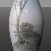 Vase with Landscape with trees, Bing & Grondahl
