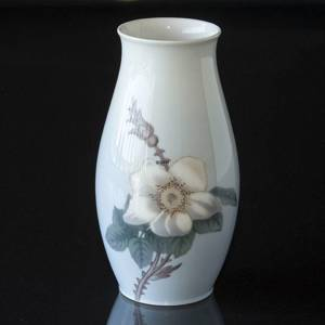 Vase with white Flower with thorns, Bing & Grondahl | No. B8652-249 | DPH Trading
