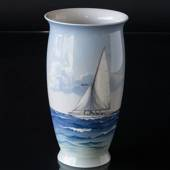 Vase with Ship, Bing & Grondahl No. 8713-450
