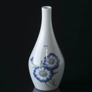 Vase with blue Flower, Bing & Grondahl No. 8815-8 | No. B8815-8 | DPH Trading