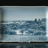 Dish with Scenery, Bing & Grondahl No. 9838-456
