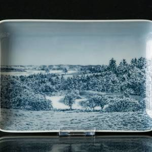 Dish with Scenery, Bing & Grondahl No. 9838-456 | No. B9838-456 | DPH Trading