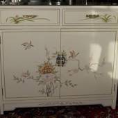 Chinese Cabinet, with 1 drawer and 2 doors, 63 X 32 X 95