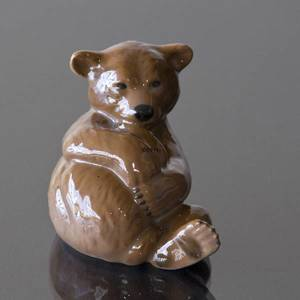 1998 Bing & Grondahl Annual figurine, brown bear | Year 1998 | No. BAF1998 | DPH Trading