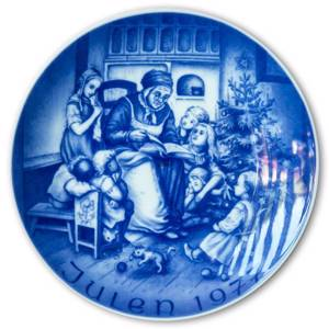 1977 Bareuther Christmas plate | Year 1977 | No. BARX1977 | DPH Trading