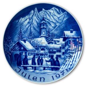 1978 Bareuther Christmas plate | Year 1978 | No. BARX1978 | DPH Trading
