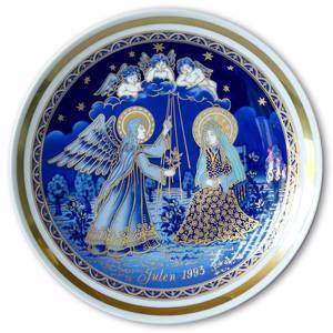 1993 Bavaria Christmas Plate Annunciation to the Blessed Virgin Mary | Year 1993 | No. BAX1993 | DPH Trading