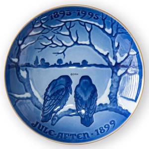 1991 Christmas of the Crowes, Bing & Grondahl Centennial plate | Year 1991 | No. BC1991 | Alt. 1913391 | DPH Trading