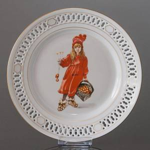 Carl Larsson Plate Special edition United States Series no. 2,-4, B&G Iduna, | Year 1978 | No. BCL2-4-USA | DPH Trading