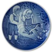 1986 Bing & Grondahl, Children's Day Plate