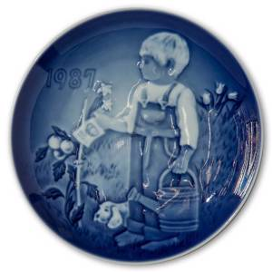 1987 Bing & Grondahl, Childrens Day Plate | Year 1987 | No. BD1987 | Alt. BD870 | DPH Trading