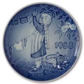 1988 Bing & Grondahl, Children's Day Plate