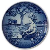 1992 Bing & Grondahl, Children's Day Plate