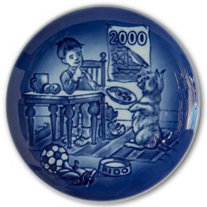 2000 Bing & Grondahl, Childrens Day Plate | Year 2000 | No. BD2000 | Alt. 1902900 | DPH Trading