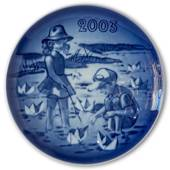 2003 Bing & Grondahl, Children's Day Plate