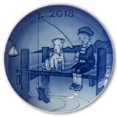 2018 Bing & Grondahl, Children's Day Plate