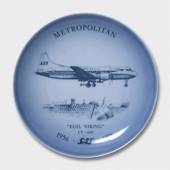 Airplane plate no. 3, Bing & Grondahl