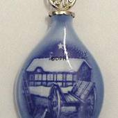 1985 Bing & Grondahl X-mas Ornament, Christmas Drop