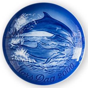 Dolphin with Calf 2000, Bing & Grondahl Mother's Day plate