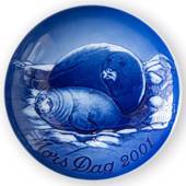 Seal with Pup 2001, Bing & Grondahl Mother's Day plate