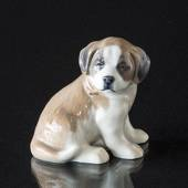 Sct. Bernhard's puppy Bing & Grondahl mother's day figurine