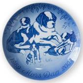 LARGE 23cm 2004 Mother's Day JUBILEE plate, Bing & Grondahl
