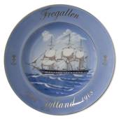 Fregatten Jylland 100 Years Plate 1860-1908, Bing & Grondahl in1983