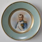 Bing and Grondahl NAPOLEON plate with portrait of Napoleon