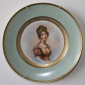 Bing and Grondahl NAPOLEON plate with Maria Louise, Duchess of Parma