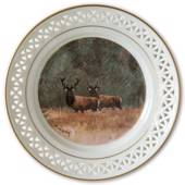 Bing & Grondahl, Plate, Animals in the Countryside